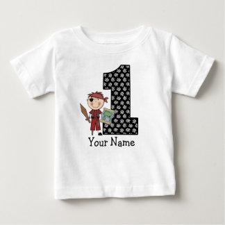 Första T-tröja för födelsedagpojkepirat T Shirts
