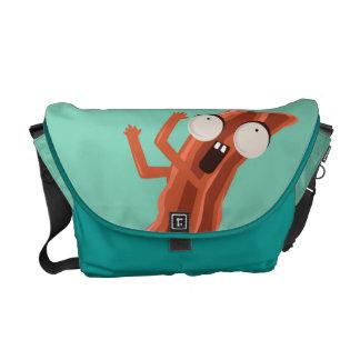 Förstenad bacon! Messenger bag
