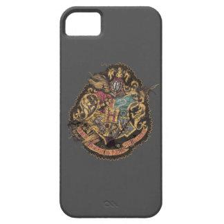 Förstörd Hogwarts vapensköld - iPhone 5 Cases