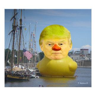 Förstoring för foto för anka för Donald Trump