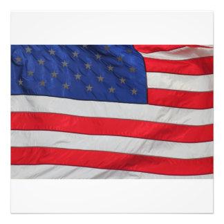 Förstoring för US-FLAGGAfoto