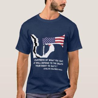 Försvara åsiktsfrihet T T Shirt