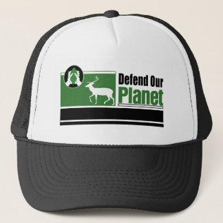 Försvara vårt planet truckerkeps