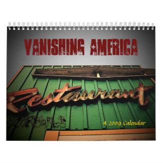 Försvinna den skräddarsy Amerika kalendern - Kalender