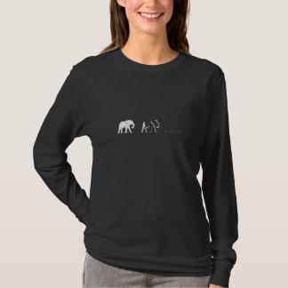 Försvinnande elefanter t-shirts