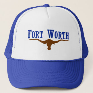 Fort Worth Longhorn Truckerkeps