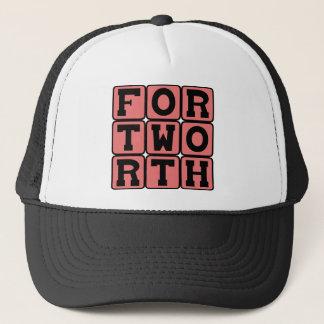 Fort Worth Texas United States Truckerkeps