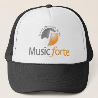 Forte- hatt för musik truckerkeps