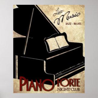 Forte- piano poster