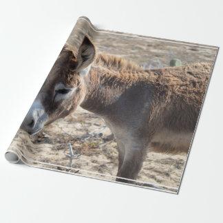 Förtjusande åsna presentpapper