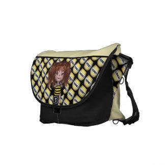 Förtjusande babyhumlafe Sally Kurir Väska