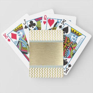 Förtjusande glamoröst sparreguld spelkort