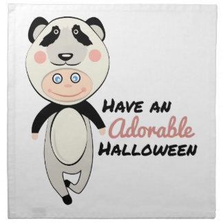 Förtjusande Halloween Tygservett