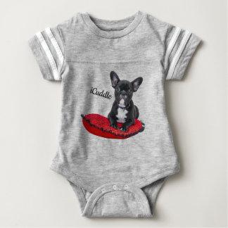 Förtjusande iCuddlefranskbulldogg T-shirt