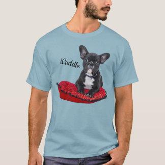 Förtjusande iCuddlefranskbulldogg Tshirts