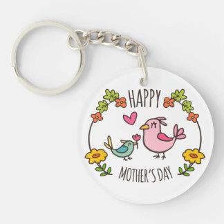 Förtjusande lycklig mors dag Keychain