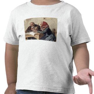 Förtjust minnen (olja på kanfas) t shirt