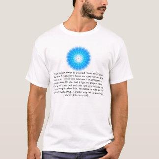 Förtroende i gud; lita på också i mig - den John T Shirt