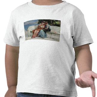 Förtroenden (olja på kanfas) t-shirts