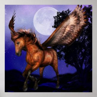 Förtrollad Pegasus affisch