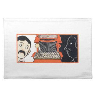 Förtrollad skrivmaskin bordstablett