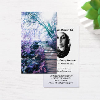 förtrollad väg för minnes- kort