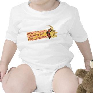 Förtrollande baby 1st Halloween skjorta Bodies För Bebisar