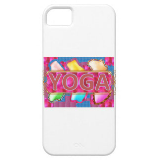 Förtrollande energitryck för YOGA iPhone 5 Hud