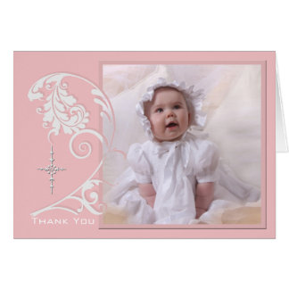 Förtrollat religiöst fototackkort OBS kort