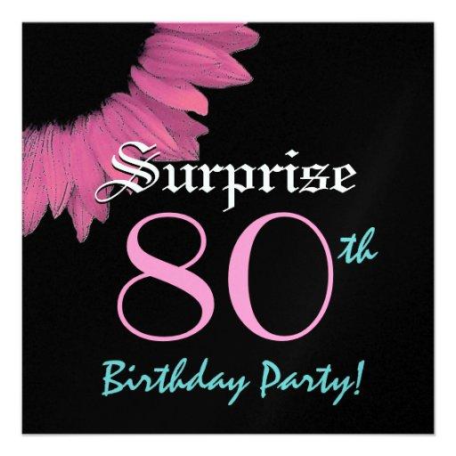 FÖRVÅNA den 80th födelsedagsfestrosasolrosen Tillkännagivanden