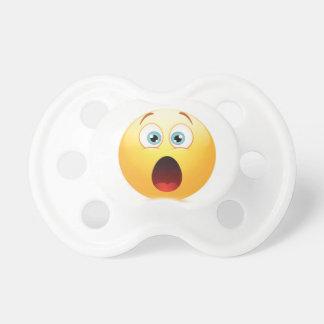 Förvånad Emoji attrapp, nappar