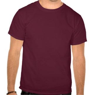 Förväntansfull doktor i rödbrunt t shirts