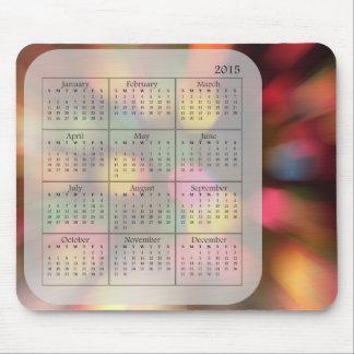 Förvirra den ljusMousepad 2015 kalendern Mus Matta