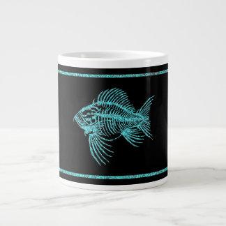 Fossil- fisk jumbo mugg