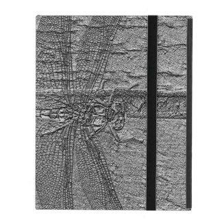 Fossilized slända iPad fodral