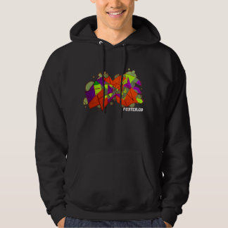 Foster_co skridskohoodie tröja med luva