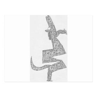 fostra för häst vykort