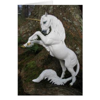 Fostra Unicornhingsten Hälsningskort