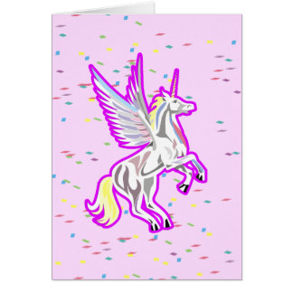 Fostra Unicornskyddsängel OBS Kort