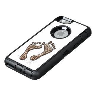Fot för snöLeopard OtterBox Defender iPhone Skal
