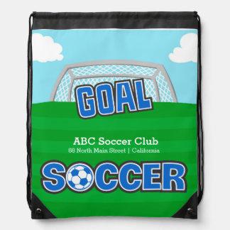 Fotboll (blått) gympapåse