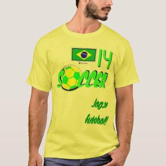 Fotboll Brasil Tee Shirt