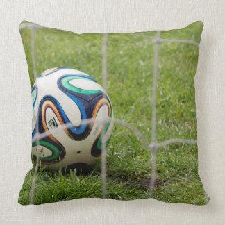 Fotboll dämpar kudde