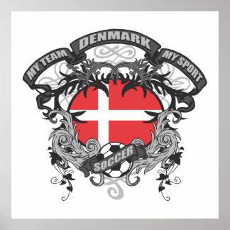 Fotboll Danmark Affischer