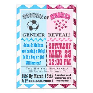 Fotboll- eller Sparklesgender avslöjer inbjudan