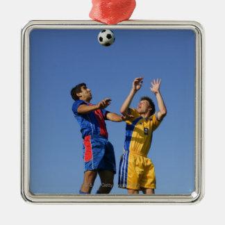 Fotboll (fotboll) 2 julgransprydnad metall
