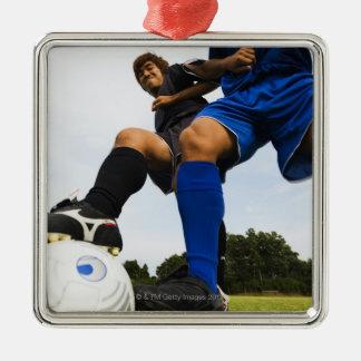 Fotboll (fotboll) julgransprydnad metall