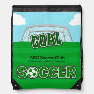 Fotboll (grönt) gympapåse