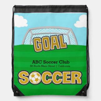 Fotboll (gult) gympapåse