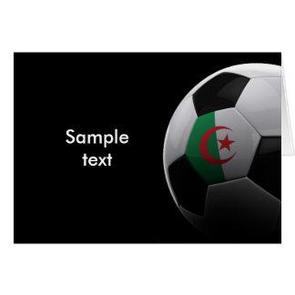 Fotboll i Algeriet Hälsningskort